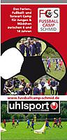 Ferien- und Fussballcamp Flyer
